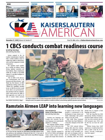 Kaiserslautern American - November 27, 2020