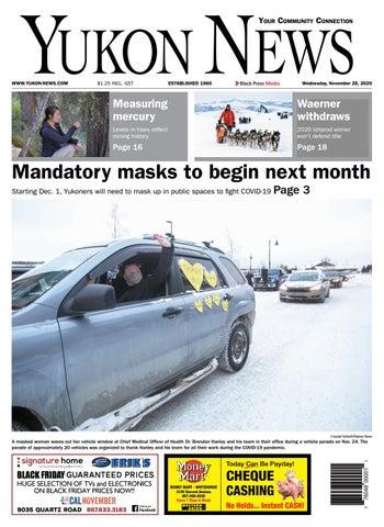 Yukon News, November 25, 2020