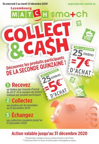 Les nouveaux produits participants à Collect&Cash