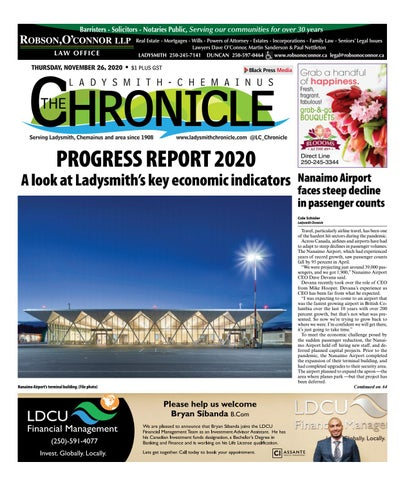 Ladysmith Chronicle, November 26, 2020