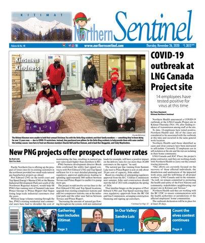 Kitimat Northern Sentinel/Northern Connector, November 26, 2020