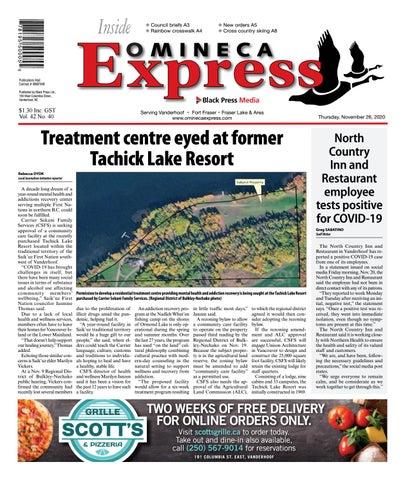 Vanderhoof Omineca Express/Stuart Nechako Advertiser, November 26, 2020