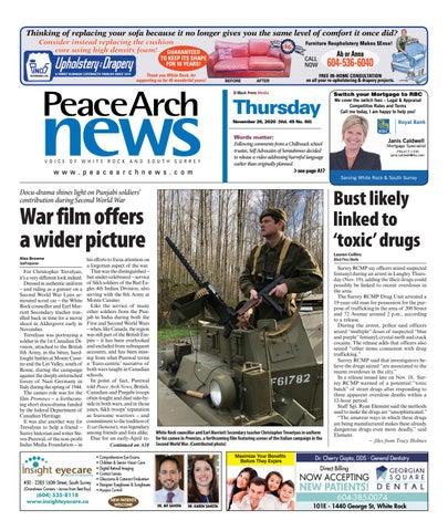 Peace Arch News, November 26, 2020