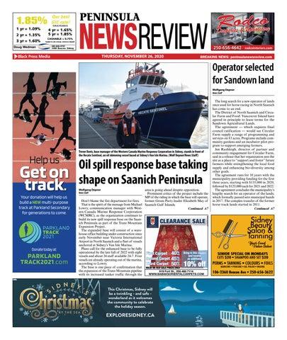 Peninsula News Review, November 26, 2020