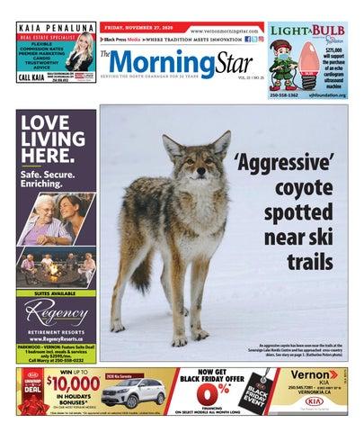 Vernon Morning Star, November 26, 2020