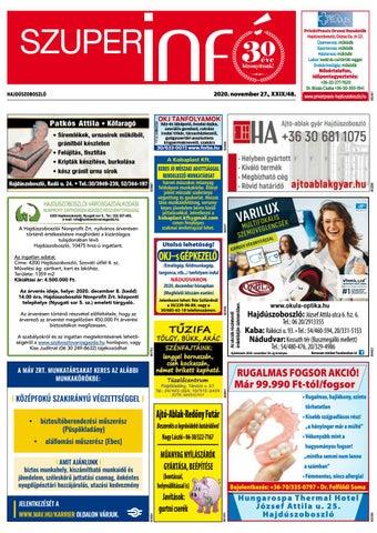 Hajduszoboszlo 2020.11.27
