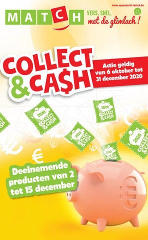 De nieuwe deelnemende producten Collect & Cash