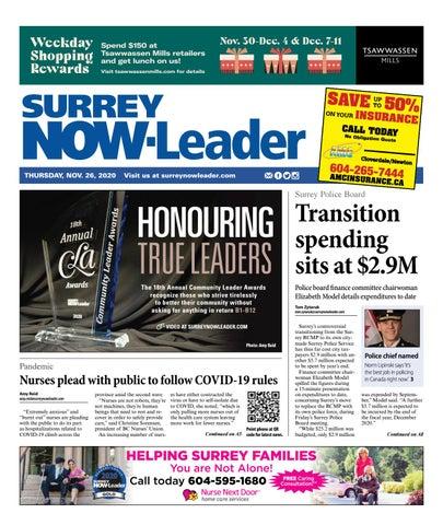 Surrey Now Leader, November 26, 2020