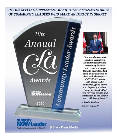 2020 Community Leader Awards