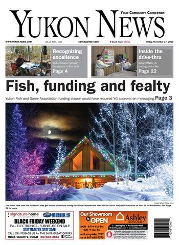 Yukon News, November 27, 2020