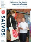 15 August: Salvos on the job to support refugees