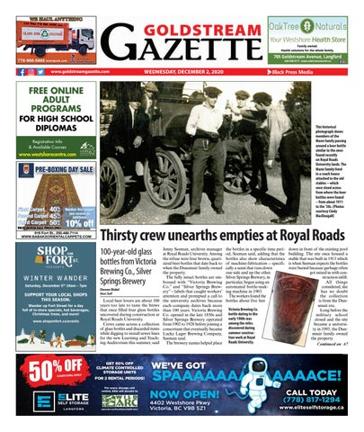 Goldstream News Gazette, December 2, 2020