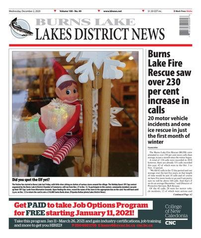 Burns Lake Lakes District News, December 2, 2020