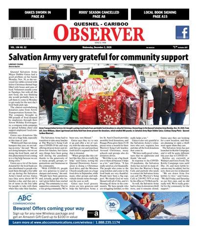 Quesnel Cariboo Observer, December 2, 2020
