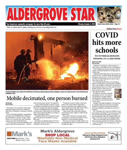 Aldergrove Star, December 3, 2020