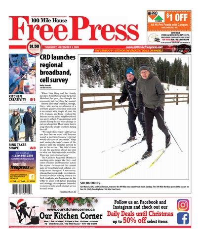 100 Mile House Free Press, December 3, 2020