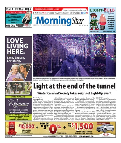 Vernon Morning Star, December 3, 2020