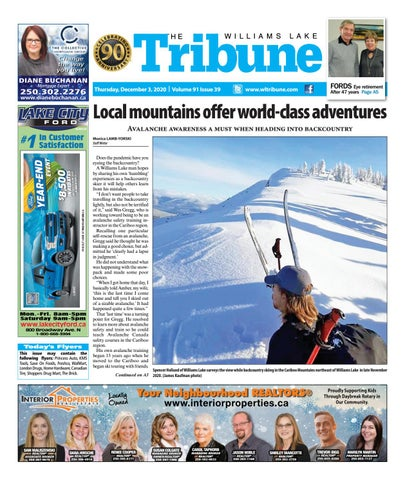 Williams Lake Tribune, December 3, 2020