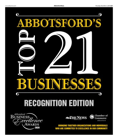 Business Excellence Awards Recognition Edition 2020
