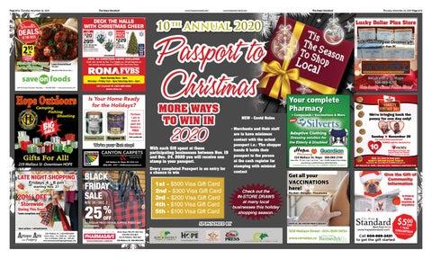 Passport to Christmas Week 1