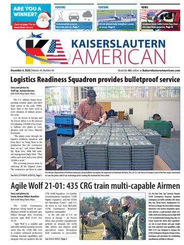 Kaiserslautern American - December 4, 2020