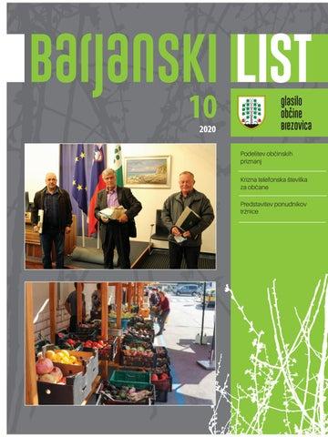 Barjanski list oktober 2020