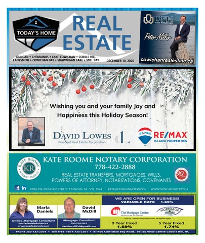 December 10, 2020 Cowichan Valley Citizen
