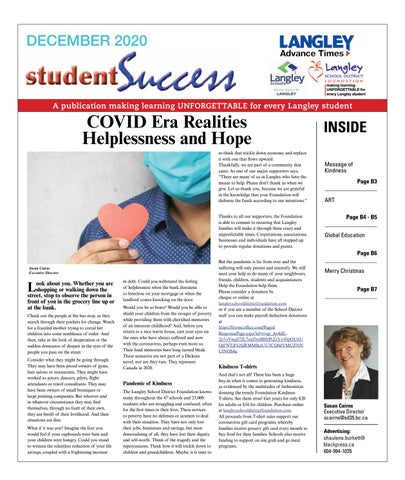 Student Success December 2020