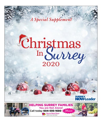 Christmas in Surrey 2020