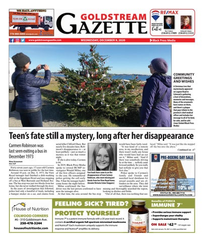 Goldstream News Gazette, December 9, 2020