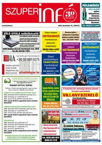 Hajduszoboszlo 2020.12.18