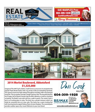 December 18, 2020 Real Estate Weekly - Abbotsford