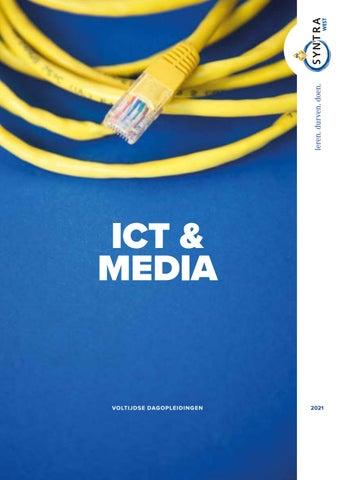 Syntra West ICT & Media voorjaar 2021