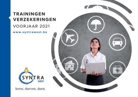 Syntra West trainingen verzekeringen voorjaar 2021