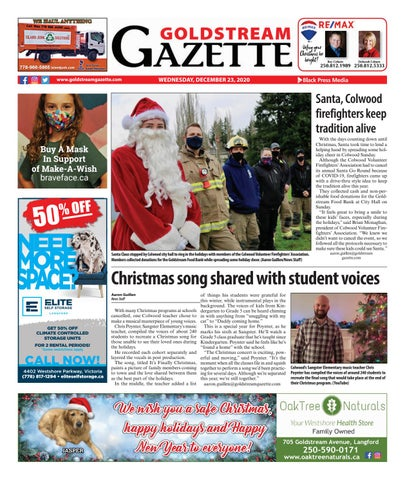 Goldstream News Gazette, December 23, 2020