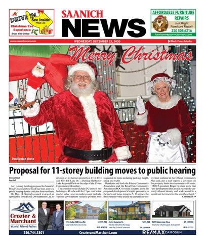 Saanich News, December 23, 2020