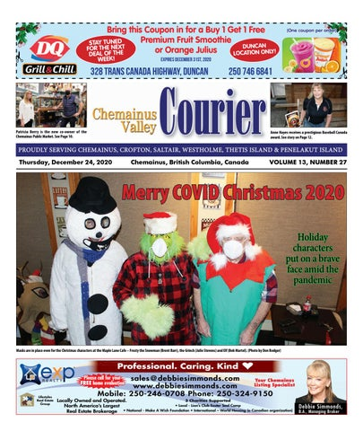 Chemainus Valley Courier, December 24, 2020