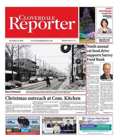Cloverdale Reporter, December 24, 2020