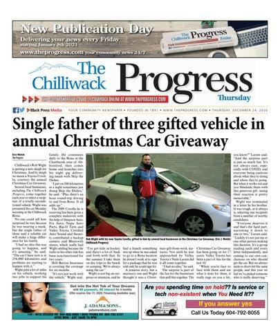 Chilliwack Progress, December 24, 2020
