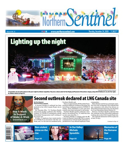 Kitimat Northern Sentinel/Northern Connector, December 24, 2020
