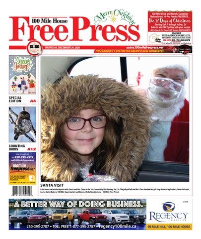100 Mile House Free Press, December 24, 2020