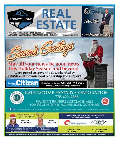 December 24, 2020 Cowichan Valley Citizen