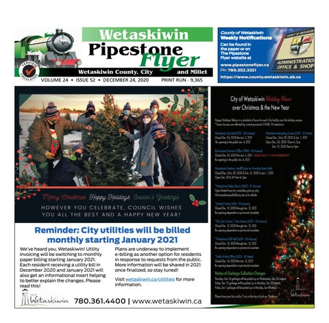 December 24, 2020 Pipestone Flyer