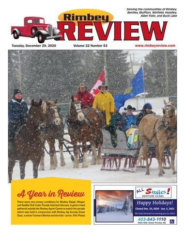 Rimbey Review, December 29, 2020
