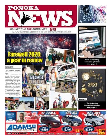 Ponoka News, December 30, 2020