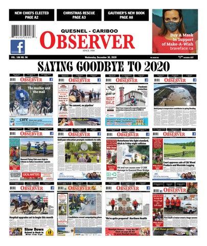 Quesnel Cariboo Observer, December 30, 2020