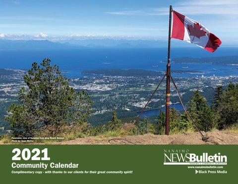 2021 Nanaimo Community Calendar