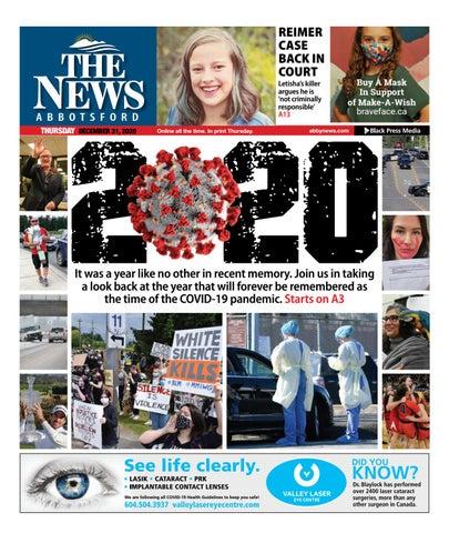 Abbotsford News, December 31, 2020
