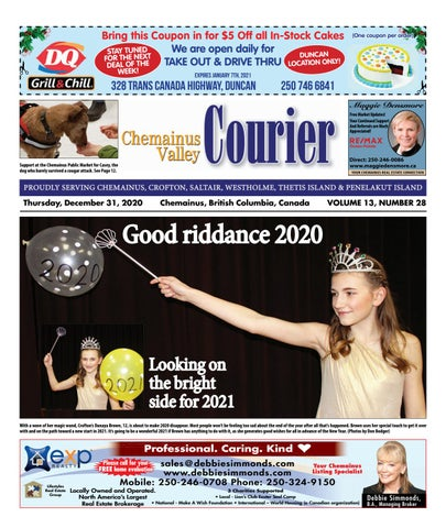 Chemainus Valley Courier, December 31, 2020