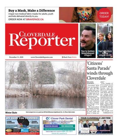 Cloverdale Reporter, December 31, 2020